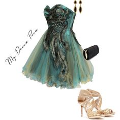 My Dream Prom, created by ceemarie070273 on Polyvore
