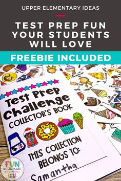 Are you looking for some test prep strategies your students will love? These activities and games will motivate your students to want to engage in test prep activities and optimize their learning. Great test prep ideas, games