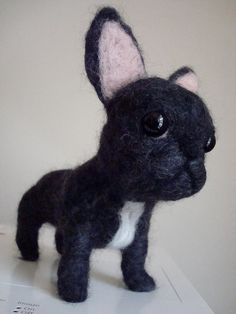 needle felted french bulldog - Google Search