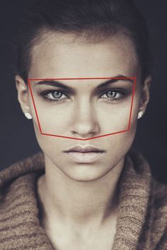 In order to achieve a high degree of likeness in a drawing one must pay attention to what is called the facial triangle. The facial triangle is a term which refers to the brow, cheek bones and the ...