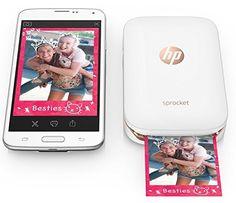 ¡Chollo! Impresora fotográfica HP Sprocket portátil sin tinta por 129 euros.