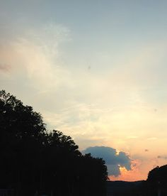 Project 365 - Each day a new adventure: Day 140: Sunset on the week