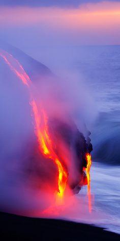 Is it weird my bucket list includes seeing an active volcano?? (volcano lava kilauea hawaii)