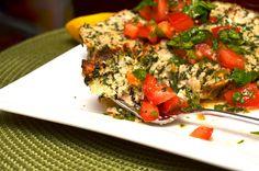 Slimmed Down Turkey & Spinach Meatloaf