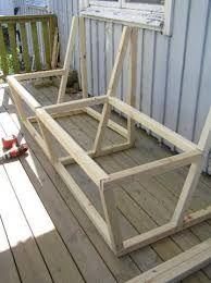 Bildresultat för bänk ute bygga förvaring