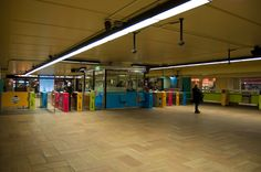 Montreal McGill Metro Station - Oh, I have spent a lot of time here. It's the best public transit system I've ever used though.