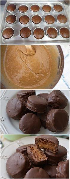 BOLINHO DE CHOCOLATE RECHEADO, A MELHOR SOBREMESA QUE EXISTE! DE COMER REZANDO!!! (veja como fazer) Mini Tortillas, Deserts, Cupcakes, Pudding, Sweets, Wafer Cookies, Chocolate Cupcakes Filled, Recipe Of Chocolate Cake, Tasty Food Recipes