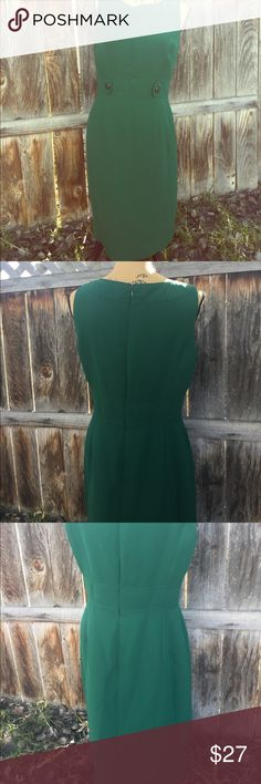 Tahari career dress size 8 Fits smaller. Manaquin is a small (6) for referrence.  No trades Tahari Dresses Midi