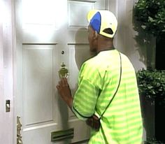 This is Will. He moved in with his Aunt Viv, Uncle Phil, and three cousins; Hilary, Carlton, and Ashley