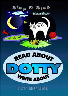 Read About Write About Dotty   from JaysEducation on TeachersNotebook.com -  (38 pages)  - A simple short story about Kim and her cat. Missing words, word searches, questions and answers, forming sentences. Simple text.