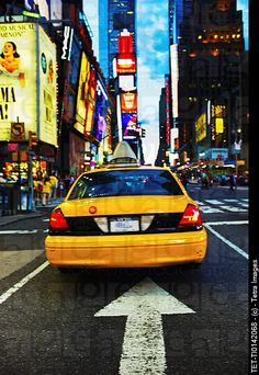 Times Square New York City ~ TAXI