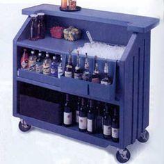portable #bar, $1,475, BAR-45630 Mobile Bar, Bar Portable, Portable Outdoor Bar, Design Despace, Bar On Wheels, Rolling Bar Cart, Gold Bar Cart, Gin Bar, Bar Cart Decor