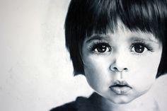 Uxbridge Ontario photorealism artist Sarah Holtby created this stunning portrait using pencil crayon! Uxbridge Ontario, Mixed Media Sculpture, Photorealism, Canadian Artists, All Art, Online Art, Pencil, The Incredibles, Portrait