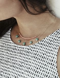 The @31bits Rosey Posey Necklace