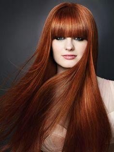 Mahogany hair color rich mahogany brown hair color tendenze per le acconc. Hot Hair Colors, Red Hair Color, Brown Hair Colors, Mahogany Brown Hair Color, Mahogany Hair, Hairstyles With Bangs, Trendy Hairstyles, Straight Hairstyles, Bangs Hairstyle