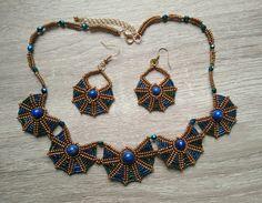 Nakit inspirisan starim Egiptom: Komplet Skarabej - Igra staklenih perlica