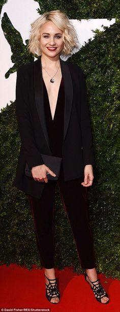 Tuppence Middleton stuns at Evening Standard British Film Awards