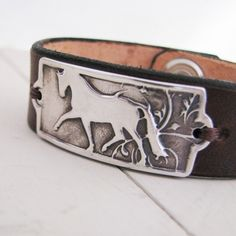 PMC Silver Horse Jewelry Artisan Handmade Fine by SilverWishes, $68.00