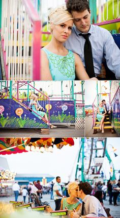 Carnival/fair photos- ideas for our engagement photos