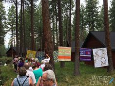 Sisters Outdoor Quilt Show 2014 Recap - Save it for Sunday, Walking Tours with Angela Walters | Jaybird Quilts
