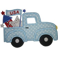 4th of july truck decorations