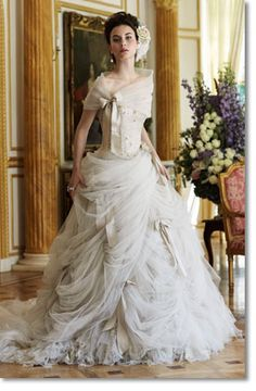 'Antoinette' by Ian Stuart Bride. - love the top of this dress
