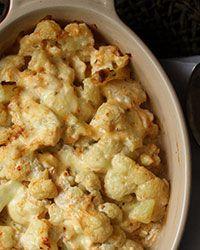Cauliflower Casserole with Cheddar