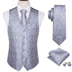 Model Number:M-2001 Style:Formal Material:SILK Color:Red,Purple,Blue,Yellow,Gold,Pink Pattern:Paisley,Plaid,Solid Class standard:Grade A Origin:China Item Type:Vests Material:Silk Contains: Waistcoat,Tie, Red Purple, Blue Yellow, Pink Patterns, Color Red, Vests, Paisley, Plaid, China, Number