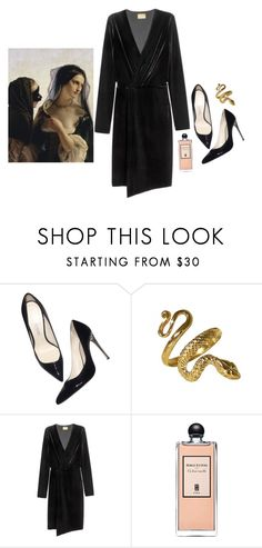 """""""#674"""" by flameberries ❤ liked on Polyvore featuring Balmain and Serge Lutens"""