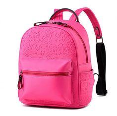 2828c9805661 Vogue Star New Designer Women Backpack For Teens Girls Preppy Style School  Bag PU Leather Backpacks