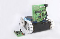 War Field Spying Robot with Night Vision Wireless Camera - This project is designed to develop a robotic vehicle using RF technology for remote operation attached with wireless camera for monitoring purpose.