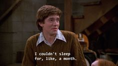Eric Foreman is such a 'mood' as they say these days! 70s Quotes, Film Quotes, That 70s Show Memes, Eric Foreman, Thats 70 Show, Response Memes, Movie Lines, Quote Aesthetic, Reaction Pictures