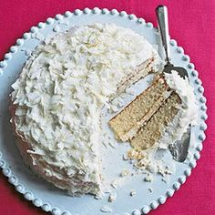 The Hungry Mama...: Buttermilk White Cake with Coconut ... Delish ... My niece made it and it was excellent ... Everyone wanted seconds!