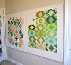 Design-A-Way; A Retractable Design Wall for Quilters--My birthday ...