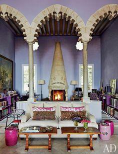 lavender bone inlay furniture - Google Search