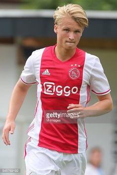 Kasper Dolberg of Ajax during the pre-season friendly match... #schwendau: Kasper Dolberg of Ajax during the pre-season… #schwendau
