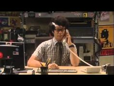 The IT Crowd - The best of Maurice Moss! Hilarious of course! LMAO -- via  YouTube!