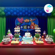 Resultado de imagen para pocoyo cumpleaños decoracion