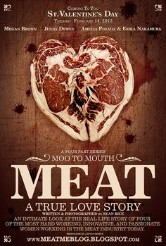 An intimate look at the real life story of FOUR of the hardest WORKING, INNOVATED, and PASSIONATE women working in the MEAT industry today! LIVE St Valentines Day!