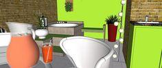 Projeto de área gourmet. mhomeconsultoria@outlook.com