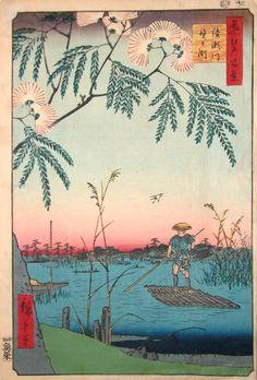 Ayase River and Kanegafuchi
