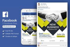 Corporate Business Facebook Post by Design Up on @creativemarket