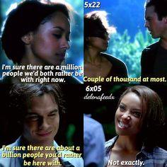 #TVD 5x22/6x06 - Damon and Bonnie