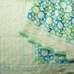 Shivangi Kasliwaal Handwoven Banarasi Tissue Net Silk Sari 1012945 - / Shivangi Kasliwal - Parisera