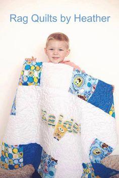 Free motion spongebob quilt.. Not for sale