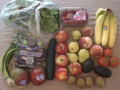 A cost and quality comparison between our local produce co-op and purchasing produce from the grocery store.