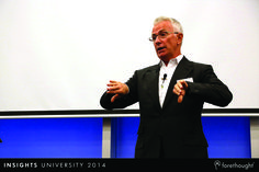 Ken Roberts, Chief Executive Officer, Forethought engaging the audience at #InsightsUni14. www.forethought.com.au