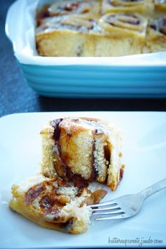 Caramel Apple Cinnamon Rolls  http://buttercupsweets.jimdo.com