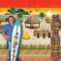 diy hawaiian stage decorations - Google Search   Hawaiian ...