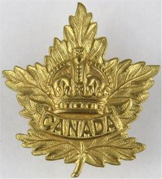 Canadian General List - Small Crown Other Ranks' metal cap badge for sale Canadian Army, Military Insignia, Kings Crown, Military Uniforms, Commonwealth, Badges, Ww2, Empire, British